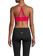 Casall - Strappy Sports Bra - sport-bh: hög - vivid pink - 3
