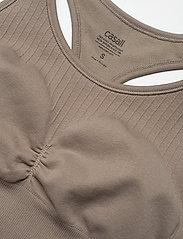 Casall - Soft Sports Bra - biustonosze sportowe: wysokie - comfort grey - 3