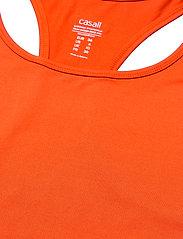Casall - Essential Racerback - podkoszulki bez rękawów - intense orange - 2