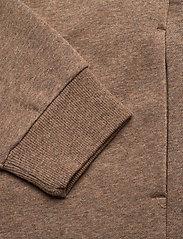Casall - Zip Hoodie - bluzy z kapturem - brown melange - 3