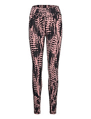 Iconic Printed 7/8 Tights - SURVIVE PINK
