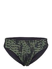 Bikini Brief - SURVIVE DK GREEN