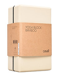Yoga block bamboo - NATURAL