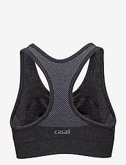 Casall - Smooth sports bra - sport-bh: hög - dk grey melange - 2