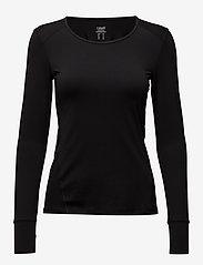 Casall - Essential long sleeve - bluzki z długim rękawem - black - 0