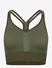 Casall - Seamless sports top - sportbeh''s: low - northern green - 0