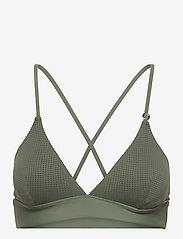 Casall - Iconic Bikini Top - góry strojów kąpielowych - northern green - 0