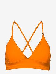 Casall - Iconic Bikini Top - bikinitoppar - striking orange - 1