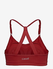 Casall - Strappy Sports Bra - sport-bh: hög - moving red - 2