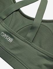 Casall - Strappy Sports Bra - biustonosze sportowe: wysokie - northern green - 2