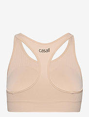 Casall - Soft Sports Bra - sportbeh''s: low - focus beige - 1