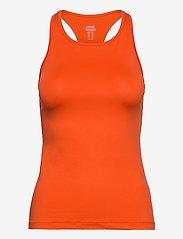 Casall - Essential Racerback - podkoszulki bez rękawów - intense orange - 0