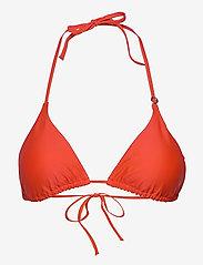 Casall - Triangle Bikini Top - góry strojów kąpielowych - impact red - 0