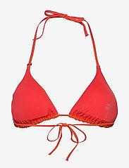 Casall - Triangle Bikini Top - góry strojów kąpielowych - impact red - 1