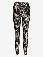 Casall - Iconic Printed 7/8 Tights - running & training tights - survive grey metallic - 1