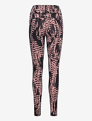 Casall - Iconic Printed 7/8 Tights - running & training tights - survive pink - 1