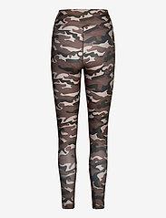 Casall - Printed Sport Tights - running & training tights - grey paint - 1