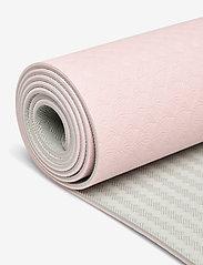 Casall - Yoga mat position 4mm - yogamatten & uitrusting - lucky pink/grey - 1