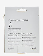 Casall - Mat carry strap - maty i sprzęt do jogi - black - 1