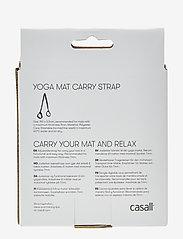 Casall - Mat carry strap - yogamatten & uitrusting - black - 1