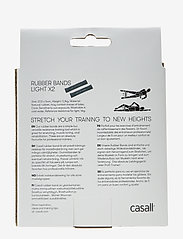 Casall - Rubber band light 2pcs - sprzęt treningowy - light grey - 1