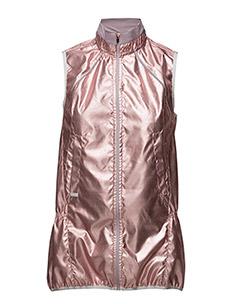 Metallic run vest - FOIL PINK
