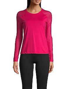 Energy Long Sleeve - logo t-shirts - vivid pink