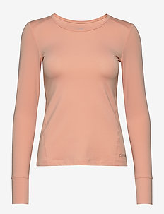 Essential long sleeve - longsleeved tops - trigger pink