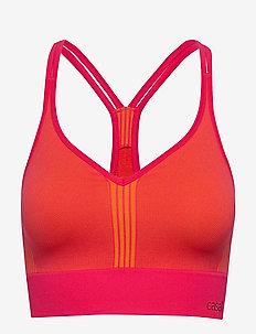 Seamless sports top - sports bras - vivid pink