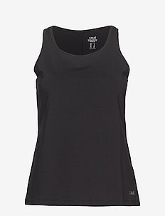 Essential relaxed tank - BLACK