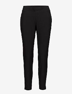 Slim woven pants - sports pants - black