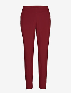 Slim woven pants - sportbukser - moving red