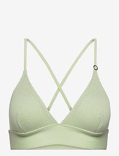 Iconic Bikini Top - góry strojów kąpielowych - calming green