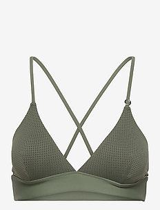 Iconic Bikini Top - góry strojów kąpielowych - northern green