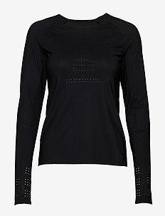Ventilation Long Sleeve - bluzki z długim rękawem - black