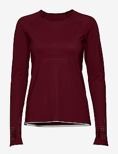 Ventilation Long Sleeve - bluzki z długim rękawem - dk moving red