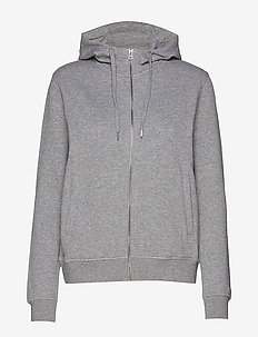 Essential Hoodie - huvtröjor - grey melange