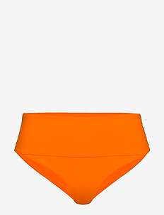 Iconic High Waist Bikini Brief - bikinitrosor - striking orange