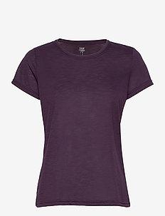 Texture Tee - t-shirty - revive purple