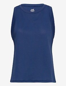 Iconic Loose Tank - tank tops - steady blue
