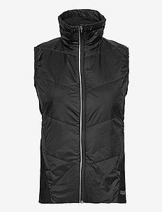 Longevity Vest - puffer vests - black