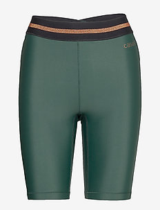 Fearless High Waist Short Tights - training korte broek - turning green
