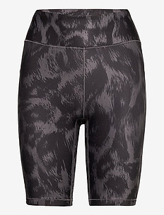 Awake Printed Biker Tights - träningsshorts - passion grey