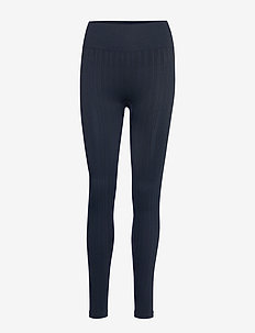 Seamless Line Tights - PUSHING BLUE