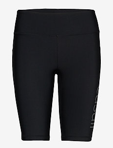 Croco Logo Biker Tights - trainings-shorts - black