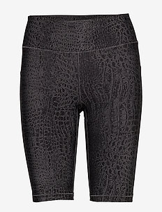 Croco Biker Tights - spodenki treningowe - grey croco