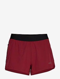 Light Woven Shorts - training shorts - moving red