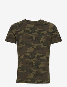 M Printed Tee - t-shirts - action green