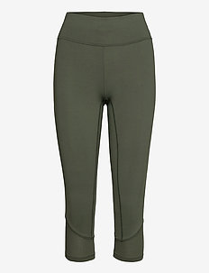 Iconic 3/4 Tights - running & training tights - northern green