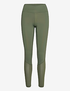Iconic 7/8 Tights - running & training tights - northern green